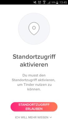 Standort aktualisiert automatisch tinder Tinder wann