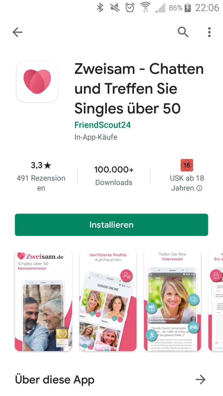 Beste dating-app für über 50
