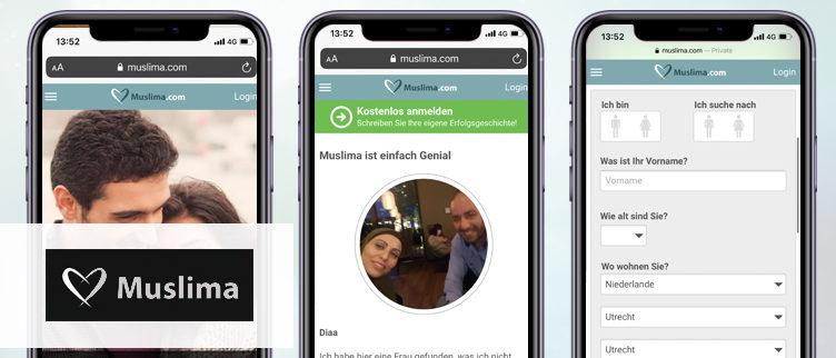 Screenshots Muslima app